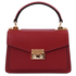Geanta dama, din piele naturala rosie, marime mica, Tuscany Leather, TL Bag
