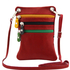 Geanta de umar Tuscany Leather din piele rosie Minicross