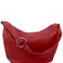Genti dama   Yvette - Geanta din piele hobo rosie - Tuscany Leather