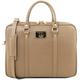 Geanta laptop dama eleganta Tuscany Leather, Prato, caramel