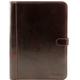 Mapa din piele naturala Tuscany Leather, maro inchis, Adriano