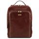 Rucsac laptop Tuscany Leather, Bangkok, din piele naturala, maro