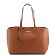 Geanta dama din piele naturala coniac , Tuscany Leather, TL Bag