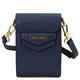 Geanta de dama, din piele naturala albastru inchis, Tuscany Leather, TL Bag